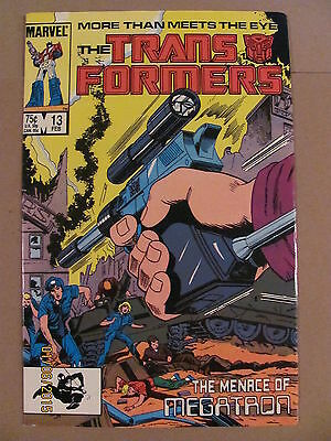 Transformers #13 Marvel Comics 1984 Series