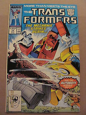 Transformers #28 Marvel Comics 1984 Series