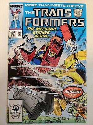 Transformers #28 Marvel Comics 1984 Series 9.2 Near MInt-