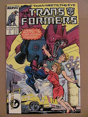 Transformers #31 Marvel Comics 1984 Series