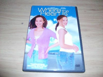 Comedy Movie: Where The Heart Is! Used & In Excellent Condition!! Ashley Judd!!!