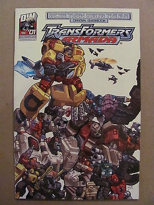 Transformers Armada More Then Meets The Eye #1 DW 2004 Series 9.4 Near Mint