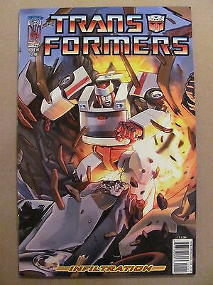 Transformers Infiltration #1 IDW 2006 Series Cover A 9.4 Near Mint
