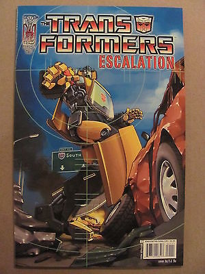 Transformers Escalation #1 IDW 2006 Series Cover A 9.4 Near Mint