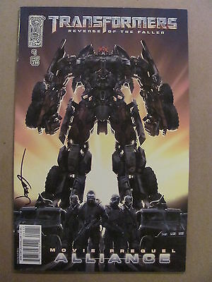 Transformers Revenge of the Fallen Movie Prequel Alliance #1 IDW 2008 9.4 NM