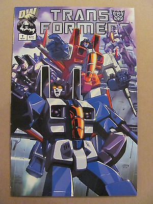 Transformers G1 #2 Dreamwave 2002 Series Cover B 9.4 Near Mint