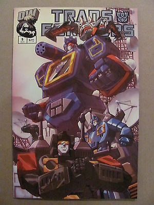 Transformers G1 #5 Dreamwave 2002 Series Cover B 9.4 Near Mint