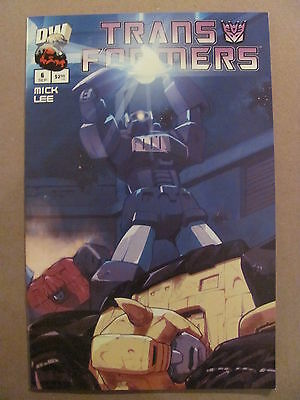 Transformers G1 #6 Dreamwave 2003 Series Cover B 9.4 Near Mint