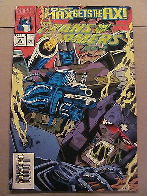 Transformers Generation 2 #2 Marvel Comics 1993 Series NEWSSTAND EDITION