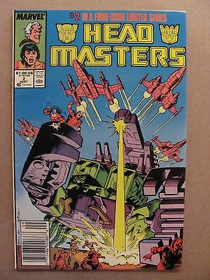 Transformers Headmasters #2 Marvel Comics 1987 Series Newsstand 9.2 Near Mint-