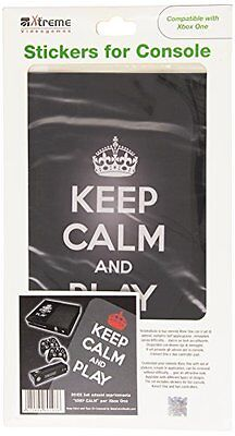 Xtreme 80103 Sticker, Keep Calm, Xbox One (a0o)