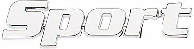 3D07203 -  Emblema 3D cromato, Badge sticker, per decorazione auto logo (z7n)
