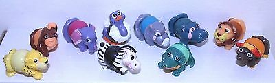 Kinder Surprise Complete Set Zoo Animals Twist Svitatelli +1 Paper Ita Top Rar