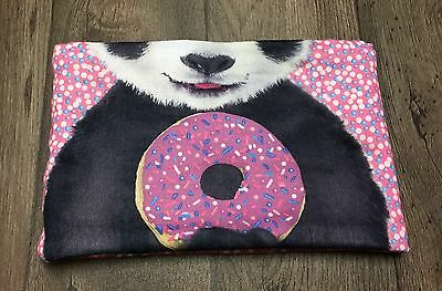 Girl's Justice Infinity Scarf Panda Bear And Donuts One Size Super Cute