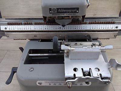 Addressograph Model 350 Dog Tag Machine