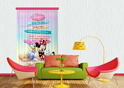 AG Design Tenda/tenda FCC L 4107 cameretta Disney Mickey Mouse (V9t)