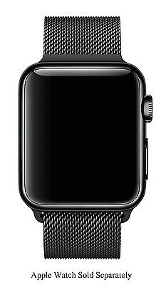Apple Space Black 42mm Apple Watch Milanese Loop Band - MLJH2AM/A