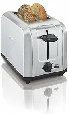 Hamilton Beach 22910 Brushed Stainless Steel 2-Slice Toaster Kitchen Appliance