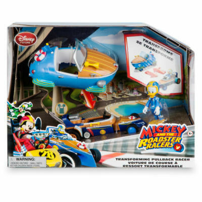 Disney Mickey Mouse Roadster Racers Donald Duck Transforming Pullback Racer