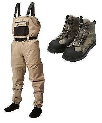 Daiwa Lightweight Breathable Waders And Boots (M-XXL)