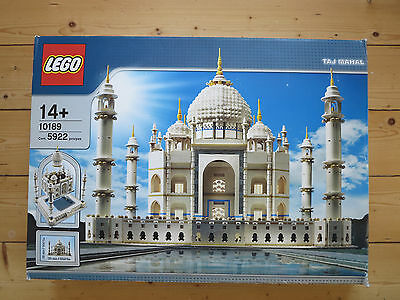 Lego 10189 Taj Mahal, new in opened box