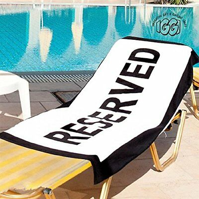 [Import Anglais]Reserved Beach Towel (N9k)