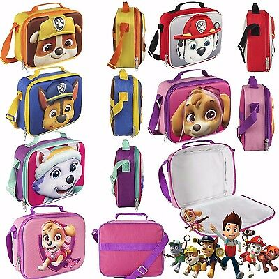 Paw Patrol  Official Lunchbox/Lunch bag Lunch box Thermally Insulated  3D effe