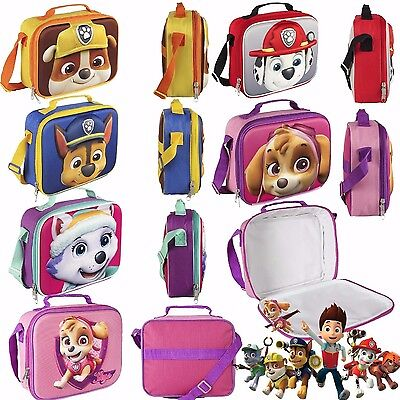 Paw Patrol  Official Lunchbox/Lunch bag  Thermally Insulated UK Stock 3D effect
