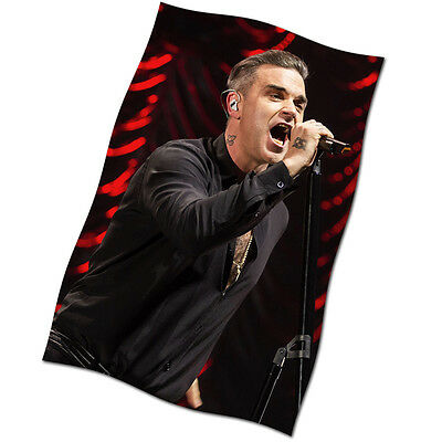 """Robbie Williams Flag Banner 30"""" NEW Feel Eternity Let Me Entertain You Live"""
