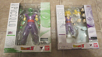 NEW Authentic S.H. Figuarts Super Saiyan Gohan + Piccolo Dragon ball Z Figure