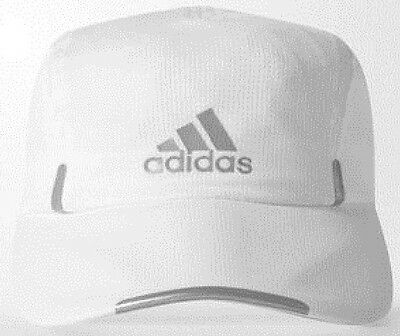 adidas Performance CLIMACOOL RUNNING CAP Reflective WHITE - Size OSFW Or OSFM