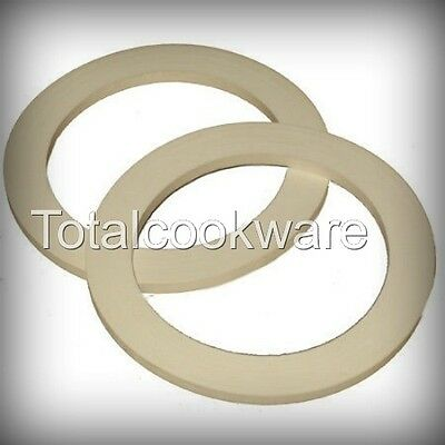 2 Silicone Spare  Gaskets Seals  For Espresso Stove Top Coffee Makers 1 Cup