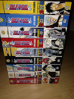 9 x BLEACH 3 in 1 Manga Book Set Volume 1 to 30
