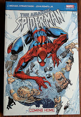 The Amazing Spider-man Coming Home - Graphic Novel (Marvel Comics)