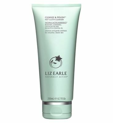 Liz Earle Cleanse & Polish Hot Cloth Cleanser 200ml - Signed for UK P&P