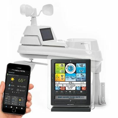 AcuRite Weather Station 5 in 1 01036 Pro with PC Connection & Monitoring App