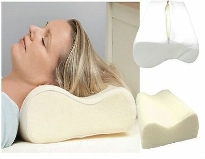 Orthopaedic Contour Memory Foam Pillow Firm Head Neck Back Support Pillows