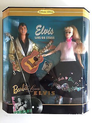 Elvis Presley 1996 Mattel Barbie Loves Elvis Nib Limited Collector's Edition