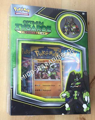 Pokémon: Optimum Zygarde Pin-Kollektion - NEU & OVP