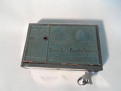 Vintage Coin Master Dime Bank  Zell Products Corp, Pacific First Federal Savings