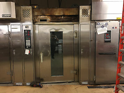 LUCKS HOBART Double Rack R-20G R20G Convection Oven Gas - Call for warranty info