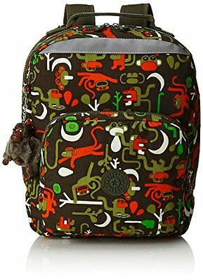 Kipling - AVA - Zaino medio - Monkey Frnds Kh - (Multi color) (b4u)