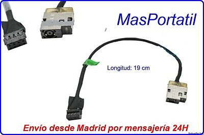 Conector Alimentacion+Cable/Dc-In Jack Hp 255 G3 Series 719859-001 Pj241