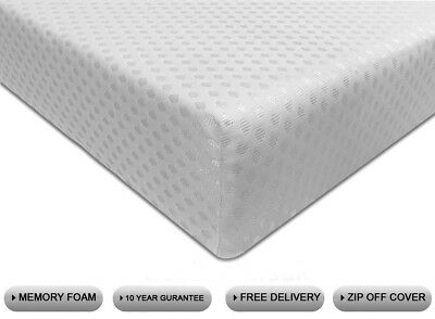Complete Memory Foam Mattress Reflex Orthopaedic 3Ft 4Ft 4Ft6 Double 5Ft King