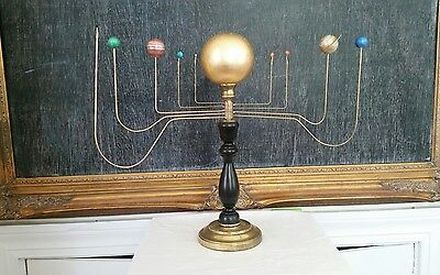 Antiqued Orrery solar system by South Carolina artist Will S. Anderson