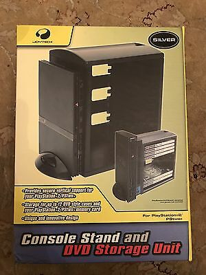 Joytech PS2 Slim Console Stand Silver Brand New Boxed Sony PlayStation