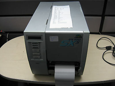 Toshiba TEC B-SX5T B-SX5T-TS12-QQ-US Thermal Label Printer 5inch 300dpi w/rewind