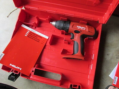 HILTI SF121-A cordless 12V drill/driver bare tool with manual & case  NEW  (144)