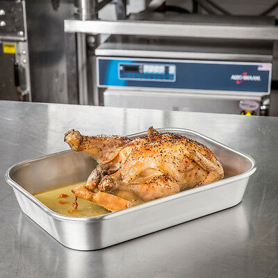 "3.875 Qt. Economy Bake and Roast Pan - 13"" x 9"" x 2 1/4"" 92268076"