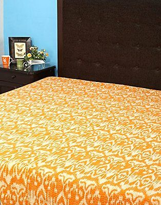 Rajrang BST02328, Copriletto in cotone, 264 x 223 xm, Arancione (Orange) (Q7X)